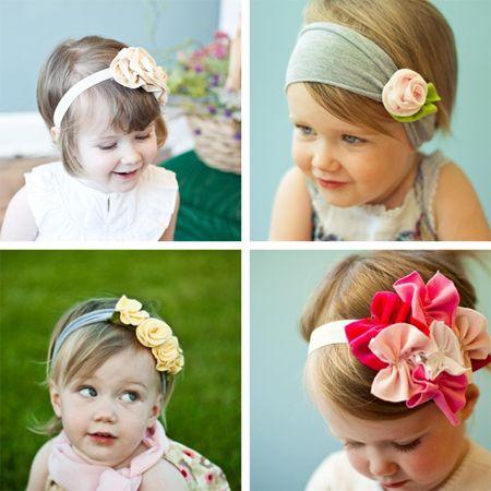 Cutest Baby Headbands--why i want a girl. <3