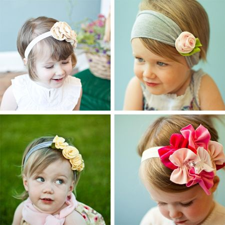 super cute baby headbands