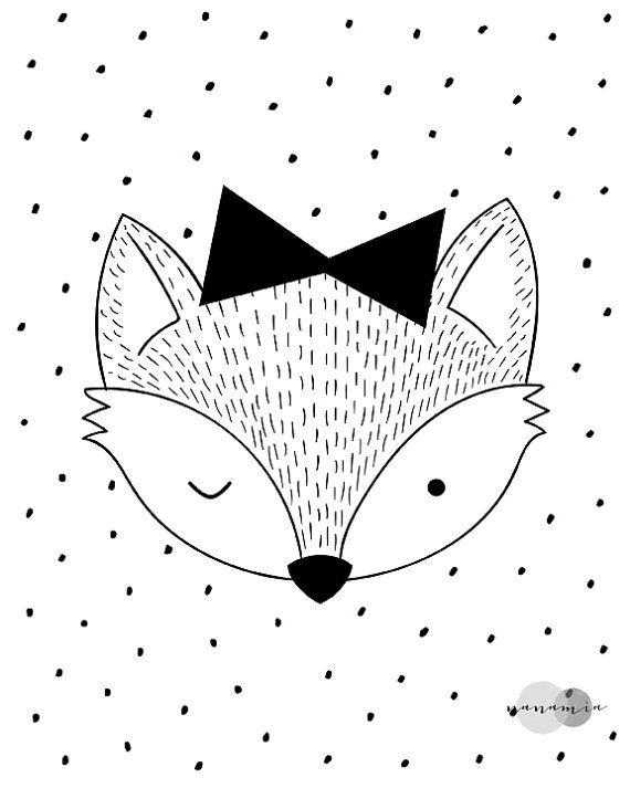 les 25 meilleures id es de la cat gorie dessin renard sur pinterest dessins d 39 animaux simples. Black Bedroom Furniture Sets. Home Design Ideas
