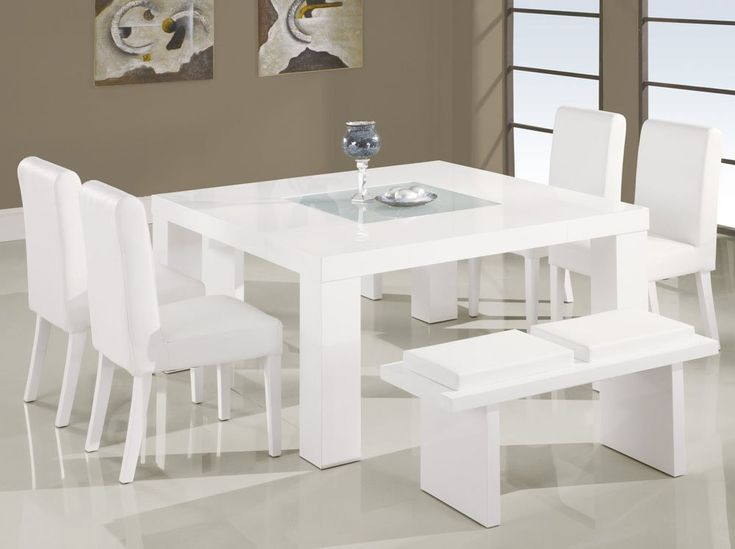 Interesting White Kitchen Table With Bench Sets Set Inside Inspiration Decorating