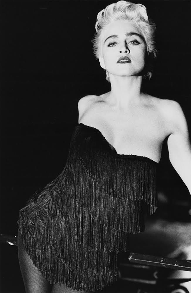 Here it is in FULL: #Madonna Vanity Fair 1986 outtake! Lady Madonna: A Change of Face.