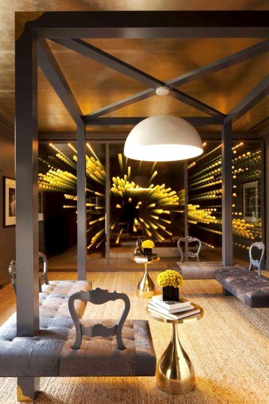 Infinity Mirror Interior Design Pinterest Infinity