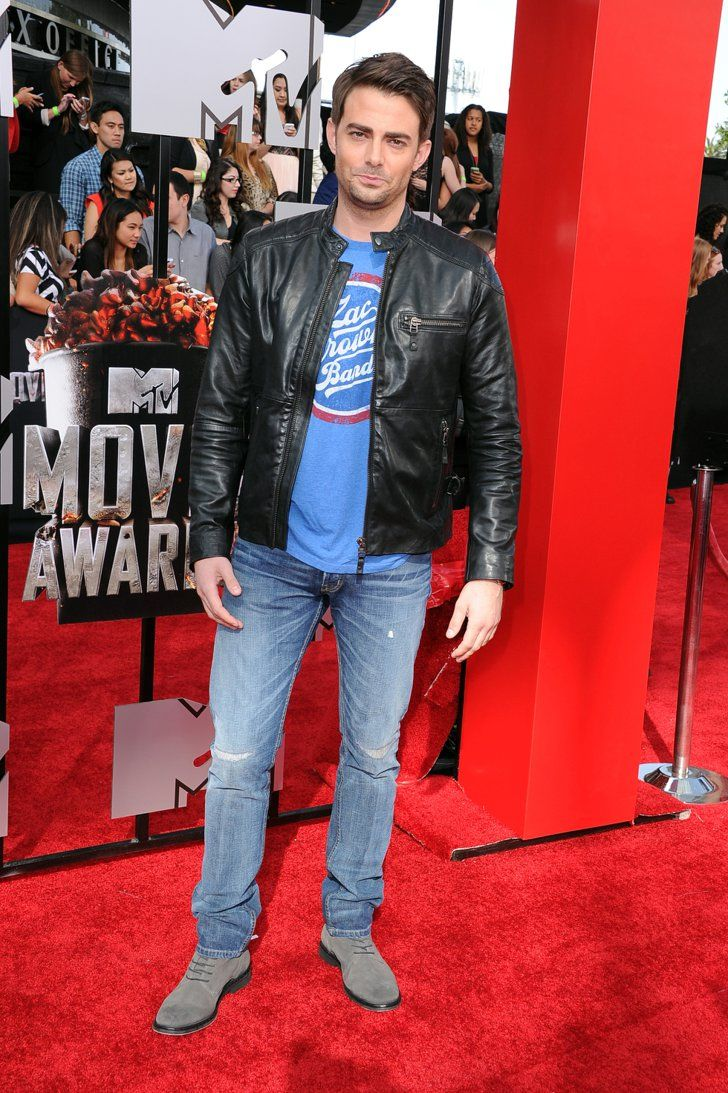 Pin for Later: Hollywood Hits the MTV Movie Awards Red Carpet Jonathan Bennett