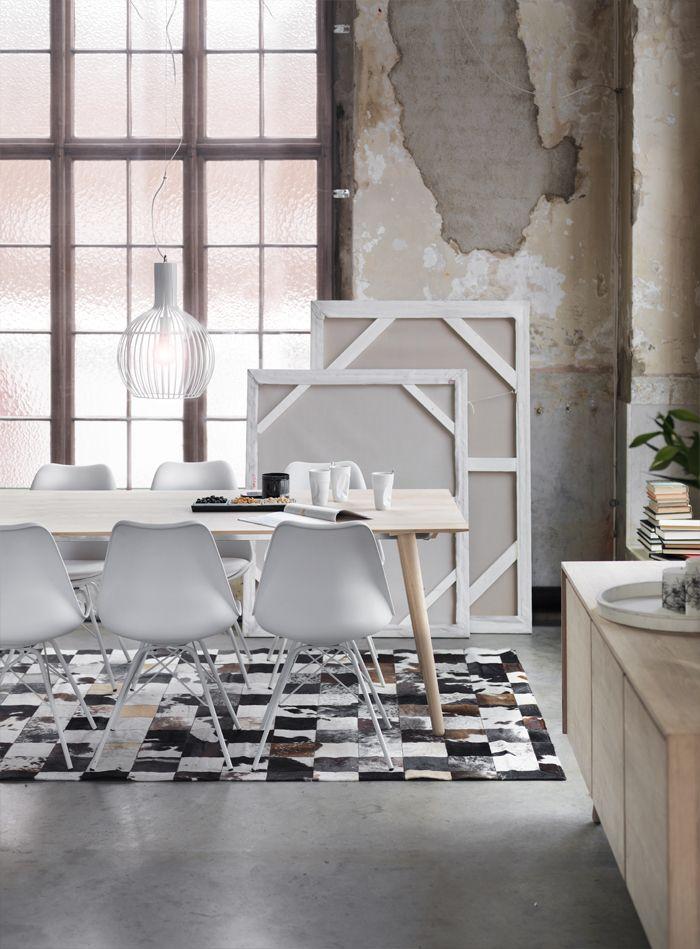 Capa spisebord + Tequila Porgy stol + København lampe