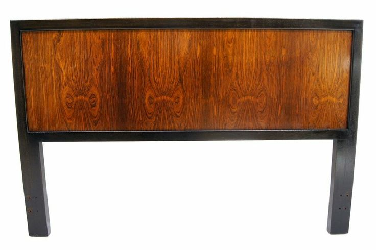 Harvey Probber Rosewood Queen Size Headboard | From a unique collection of antique and modern beds at http://www.1stdibs.com/furniture/more-furniture-collectibles/beds/