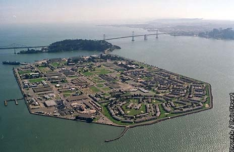 Treasure Island, California....Where I was discharged from the US Navy!