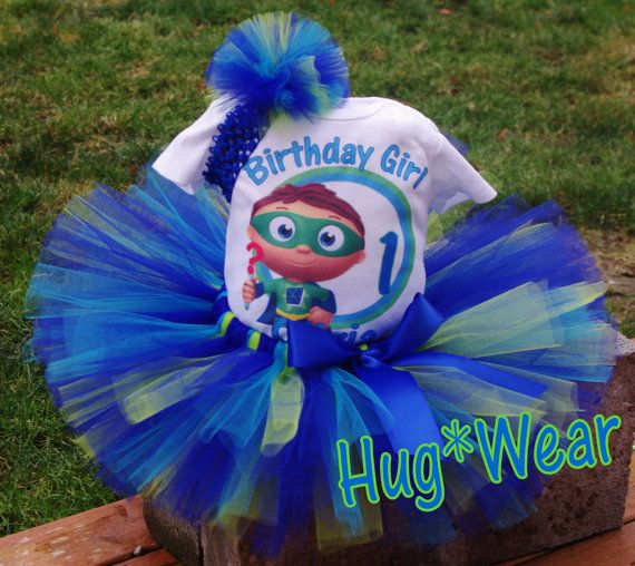 Personalized Birthday Super Why  Personalized 3m-24m 2t 3t 4t 5t 6/7/8 on Etsy, $14.95