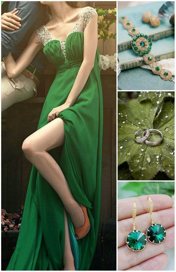 Lebendige Smaragd Grün Hochzeit Inspiration – Ideen für Hochzeiten 2014 | Optimale Karten für Verschiedene Anlässe