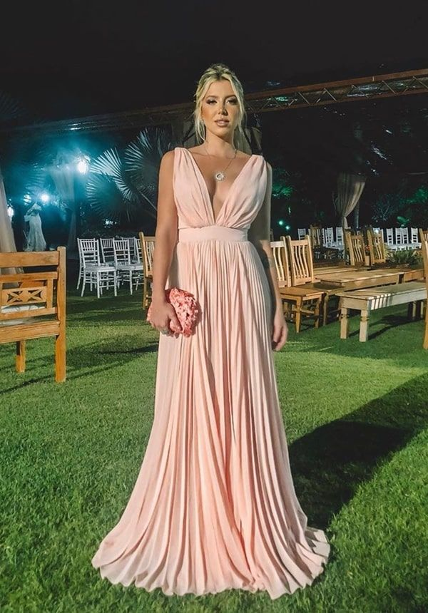 Vestido rosa para madrinha: 50 vestidos para usar em 2019 | Evening dresses, Bridesmaid dresses, Dresses