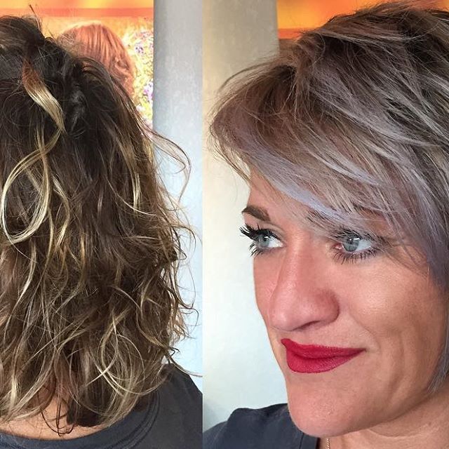 Top 100 balayage short hair photos Trying new thing. Lavender blonde #lanza #lanzalove #lanzahealingcolor #balayageshorthair #shorthairstyle #behindthechair #hairtransformation #hotonbeauty #modernsalon #americansalon #wichitastylist #salonqwichta #olaplex See more http://wumann.com/top-100-balayage-short-hair-photos/