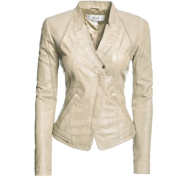 Danier : outlet : women : jackets & blazers : |leather outlet women... (265 CAD) ❤ liked on Polyvore featuring outerwear, jackets, blazers, coats & jackets, tops, pink blazer, real leather jacket, leather jacket, pink leather blazer and danier