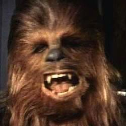 Chewbacca Star Wars Episode IV: A New Hope, Star Wars Episode VI: Return of the Jedi, Star Wars Episode III: Revenge of the Sith, Star Wars Episode VII, Star Wars Episode V: The Empire Strikes Back, Star Wars Holiday Special, Star Wars