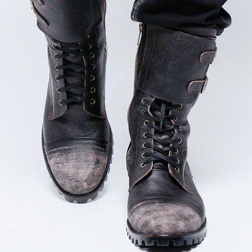 men's vintage biker boots #iLoveIt