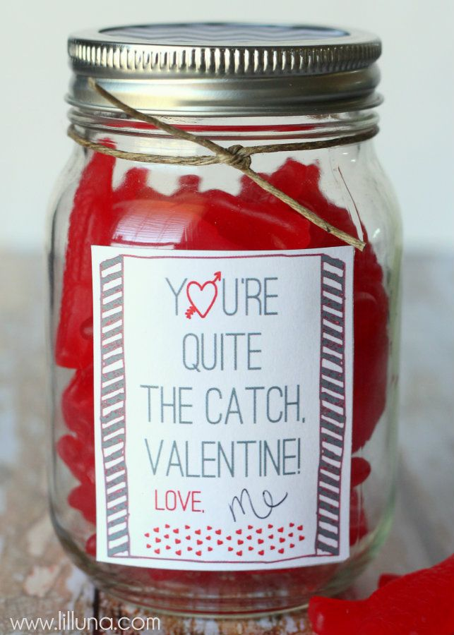 You're Quite The Catch! Last Minute Valentine's Day Gift Idea