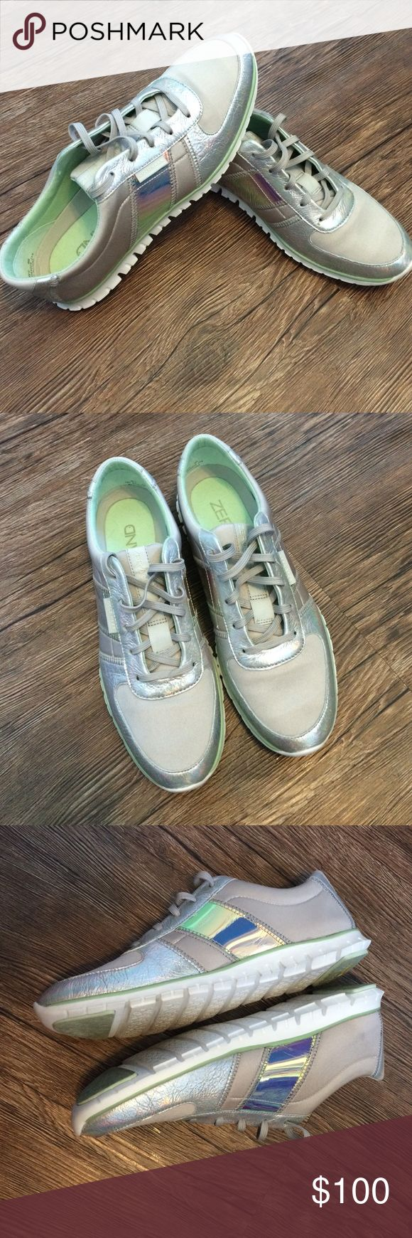 Holographic Cole Hann shoes Only worn once! absolutely NO TRADES Reasonable offers only considered through the 'make an offer' option  NO OUTSIDE TRANSACTIONS Cole Haan Shoes Sneakers