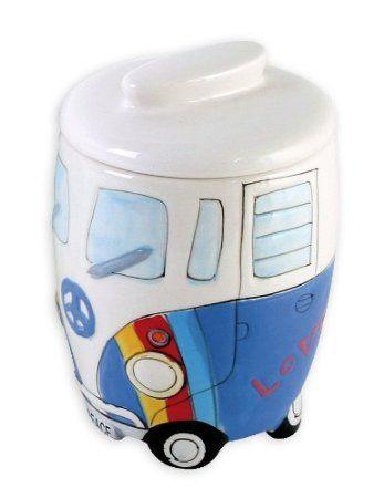 Volkswagen Merchandise Vw Camper Van Bus Ceramic