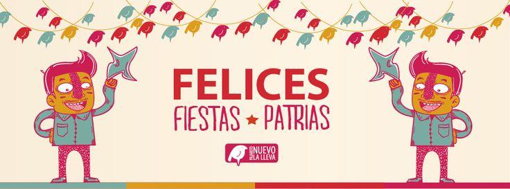 Pajarito nuevo les desea unas felices fiestas patrias!!