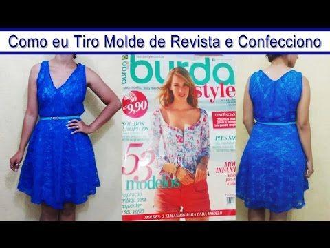 Curso online de Como tirar molde a partir de roupas prontas | eduK.com.br - YouTube