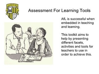 tl-assessment-for-learning-tools by caldiesschool via Slideshare