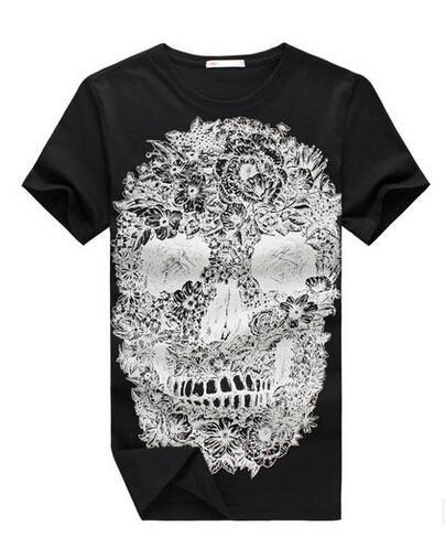 Hip Hop Shirt Skull Art