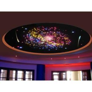 Les 25 meilleures id es concernant toiles au plafond sur for Plafond lumineux fibre optique