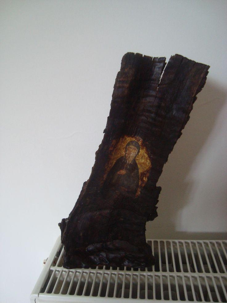 Σε ξύλο με βάση απο πηλό