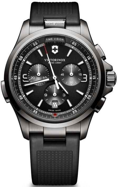 Victorinox Swiss Army Watch Night Vision #add-content #bezel-fixed #black-friday-code-allow #blacknovember #bracelet-strap-rubber #brand-victorinox-swiss-army #case-material-black-pvd #case-width-42mm #chronograph-yes #classic #date-yes #delivery-timescale-1-2-weeks #dial-colour-black #gender-mens #luxury #movement-quartz-battery #official-stockist-for-victorinox-swiss-army-watches #packaging-victorinox-swiss-army-watch-packaging #price-match-done #sale-item-yes #style-dress…