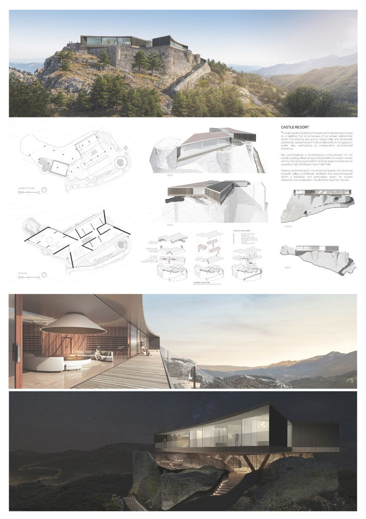 ID Team:	10347 - BLDA Architects  (Matteo Melioli, Lewis Brown, Zhongming Tam, John Perry) - United Kingdom  - More info on: http://www.marlegno.it/castle-resort
