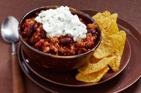Chilli con carne with red peppers | Tesco Real Food