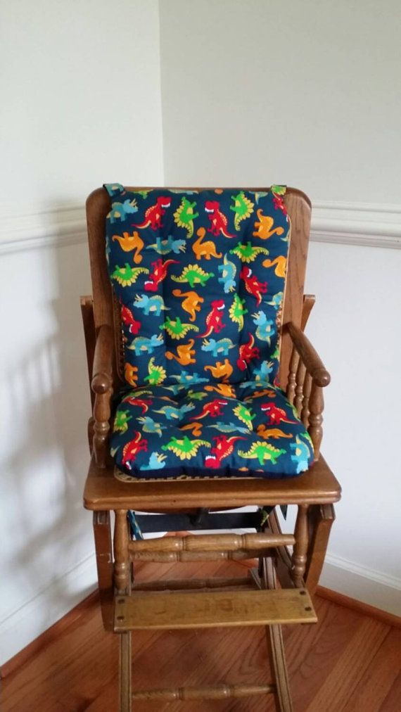 Dinosaur High Chair Cushions High Chair Pads By MayberryandMain