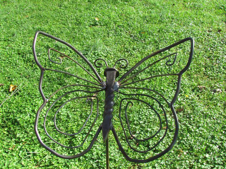 Yard Art Butterfly | Ideas | Pinterest | Yard art, Yards