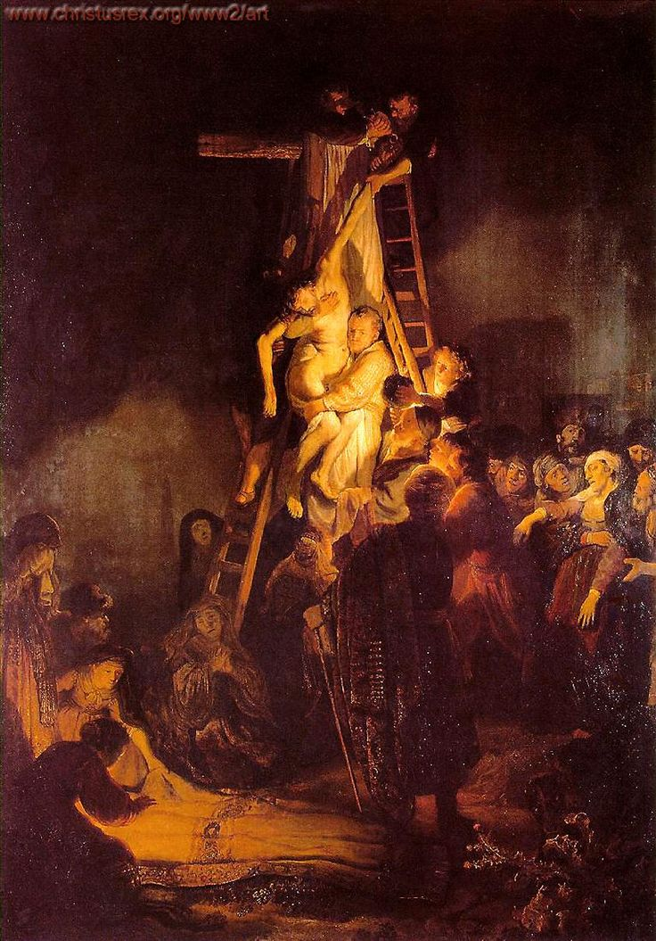 Descent from the Cross - Rembrandt van Rijn