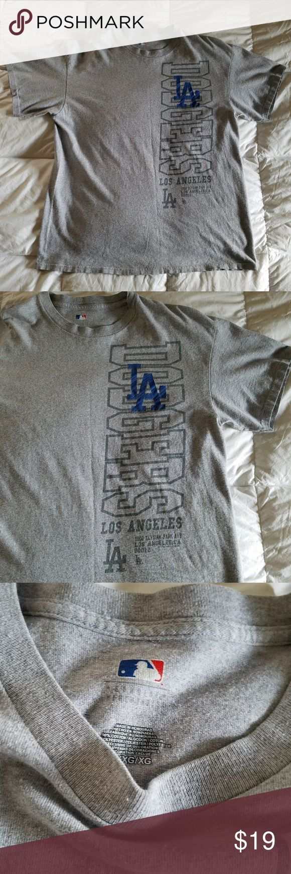 Los Angeles Dodgers Shirt XL Stadium T-Shirt MLB Excellent Pre-owned condition. From clean, Non-smoking home. Genuine MLB merchandise LA Dodgers Stadium Address Graphic T shirt. MLB Shirts Tees - Short Sleeve