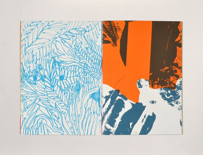 Santiago ! - Palefroi - handcrafted books and art prints - silkscreen - berlin