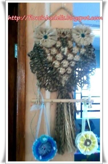 Florzinha de Lís: Decorando com latinhas de atum e Claviculário