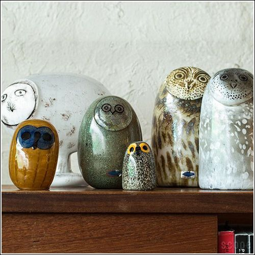 My Owl Barn: Oiva Toikka Glass Bird Collection