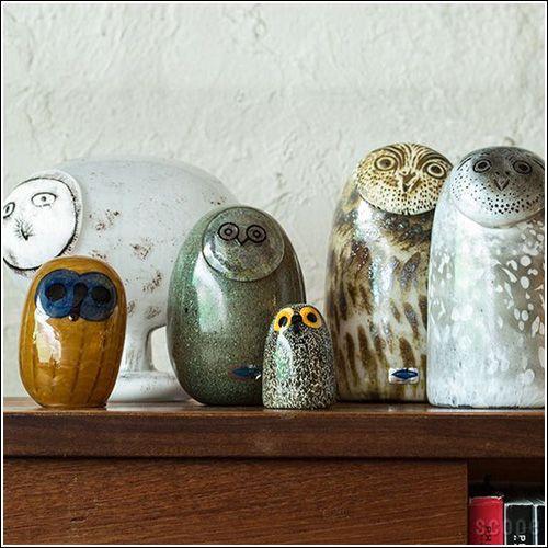 Oiva Toikka Glass Bird Collection