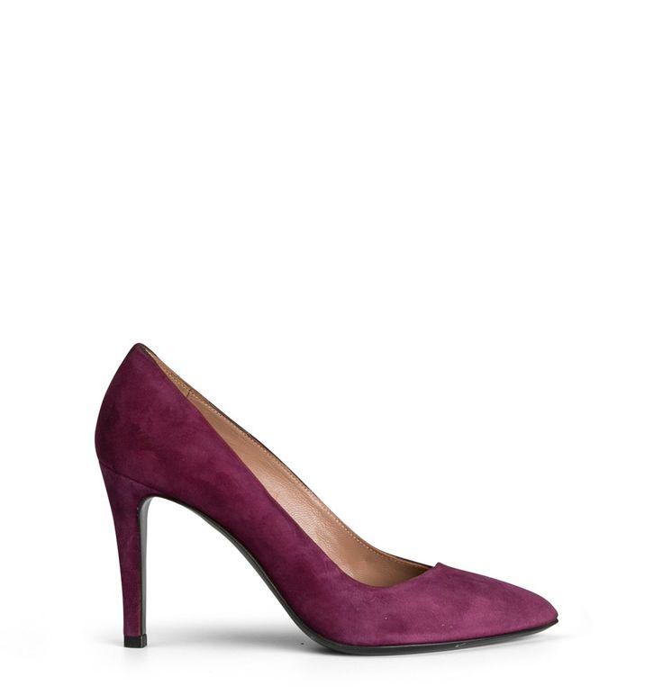 Lucchesi Silvia02 - Purple Suede