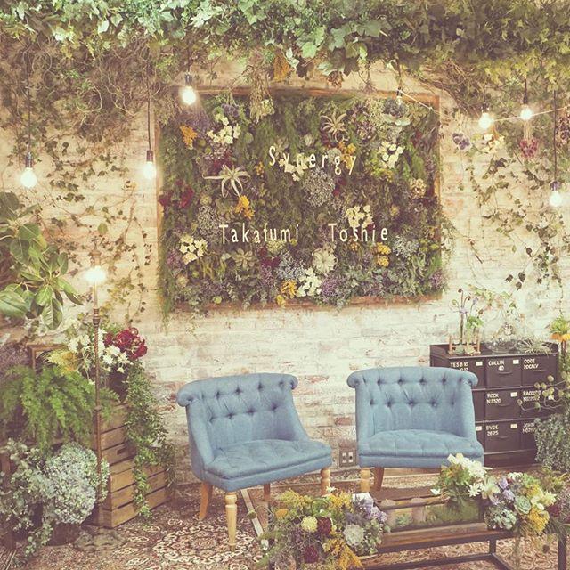 *synergy* 新郎新婦のメインテーブル♡ #TRUNKBYSHOTOGALLERY #weddingplanner #weddingtbt…