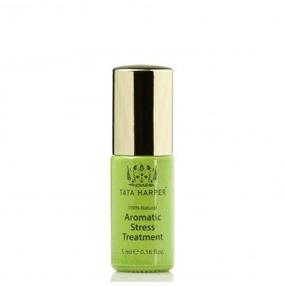 Tata Harper - Aromatic Stress Treatment Use this uplifting treatment full of light florals and calming base notes whenever you feel overwhelmed by anxiety and stress.