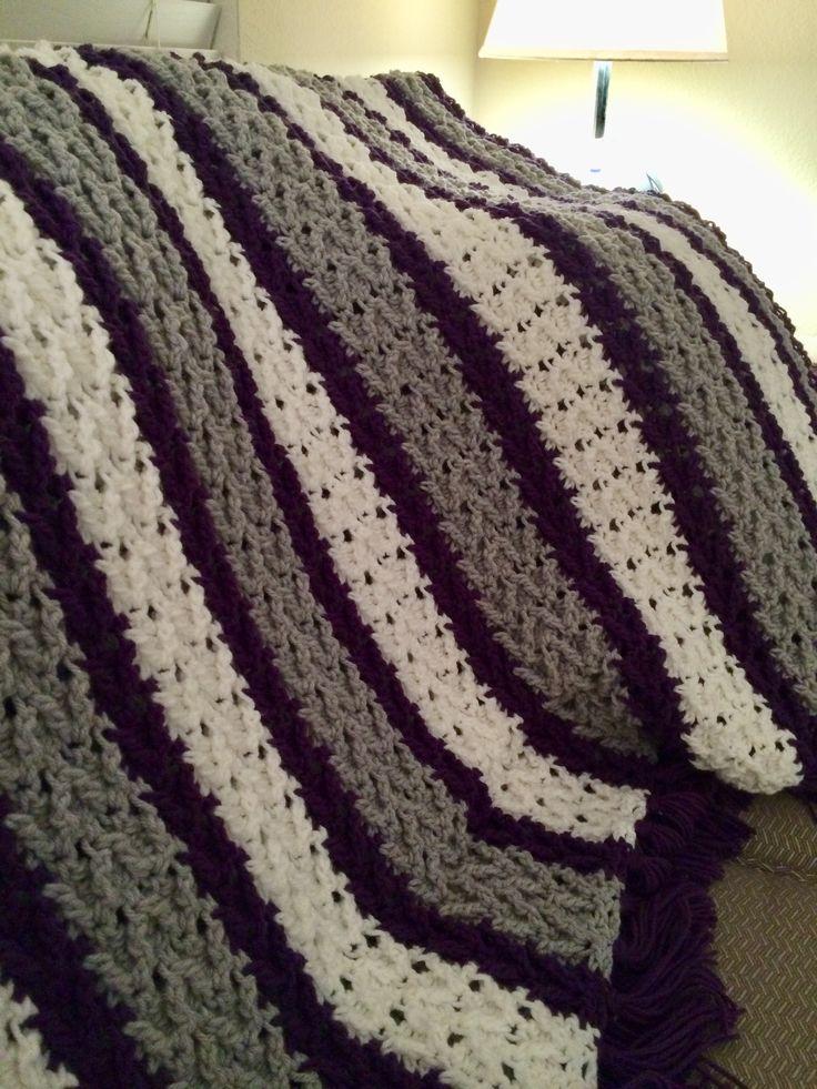 Mejores 21 imágenes de My Crochet en Pinterest   Diversión, Mantas ...