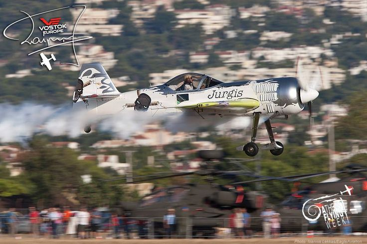 A low pass at Athens Flying Week #JurgisKairys #VostokEurope #VichosWatches #aviation #pilot #aviator #AthensFlyingWeek