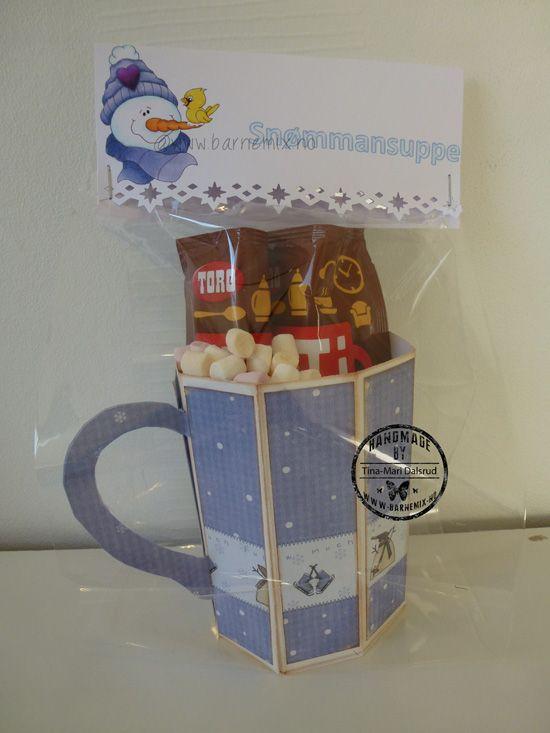 Barnemix - Snømannsuppe