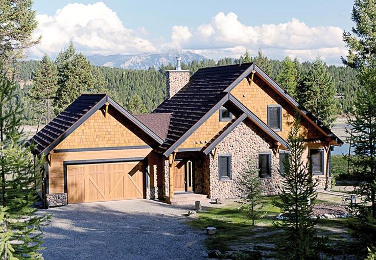 Cottage country craftsman house plan 76330 for Country craftsman house plans