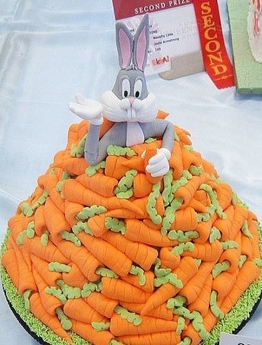 Bugs Bunny Cake, now THAT'S a carrot #cake!