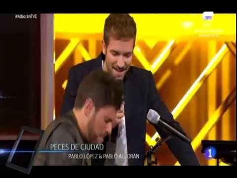 Pablo Alborán y Pablo López.  Peces de Ciudad