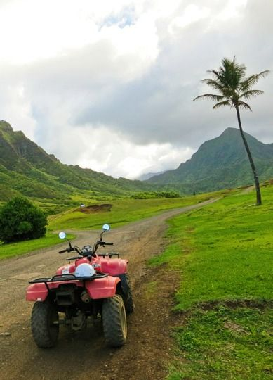 Touring Oahu's beautiful Kualoa Ranch by ATV