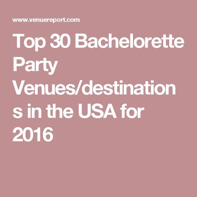 17 best ideas about party venues on pinterest barn for Fun bachelorette party destinations