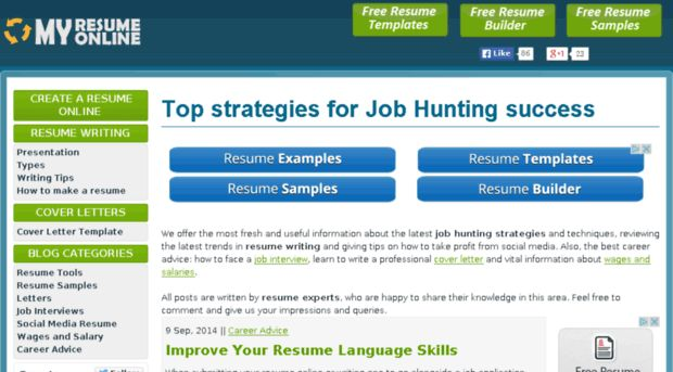 The 25+ best Free resume builder ideas on Pinterest Resume - best free online resume builder