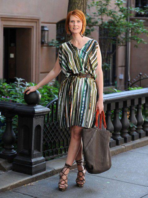156 Best Style Icon Miranda Hobbescynthia Nixon Images -7478